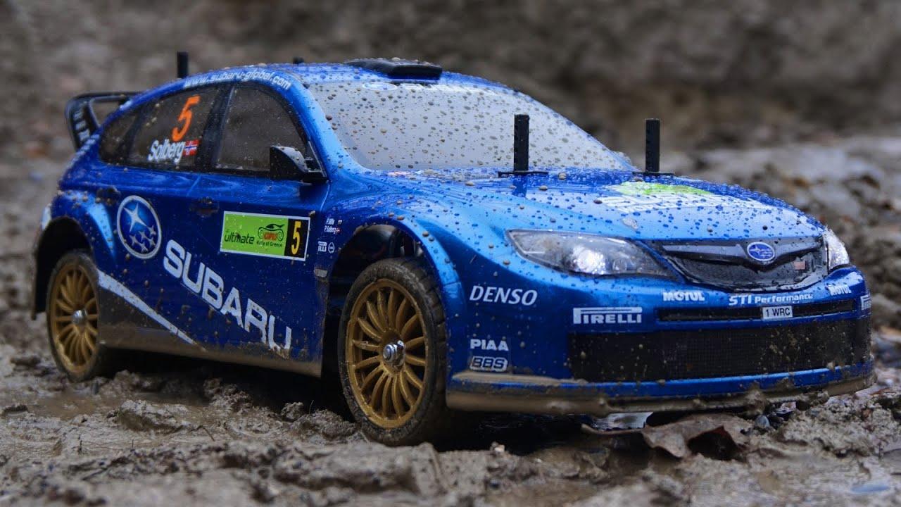 Rc Subaru Impreza Wrx Sti Rally Tamiya Tt01 E 1080p 50 Youtube