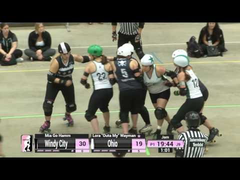 Game 1: Windy City Rollers v Ohio Roller Derby