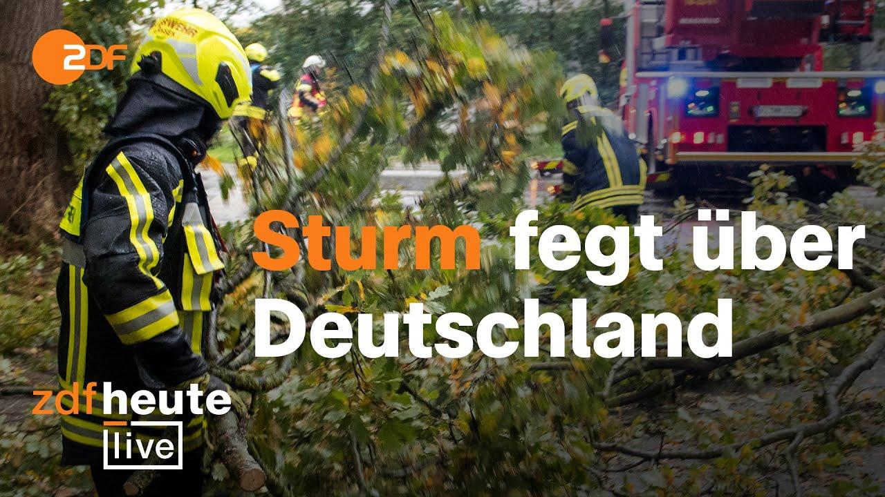 Download Sturm führt zu Bahnchaos   ZDFheute live