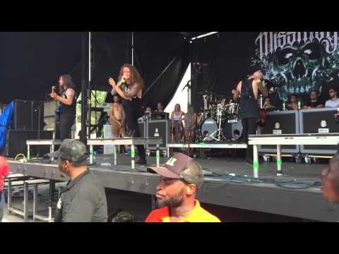 Miss May I Vans Warped Tour 2015 West palm beach, Florida