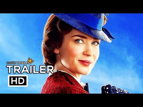 Play MARY POPPINS RETURNS Official Trailer Teaser (2018) Emily Blunt Disney Movie HD
