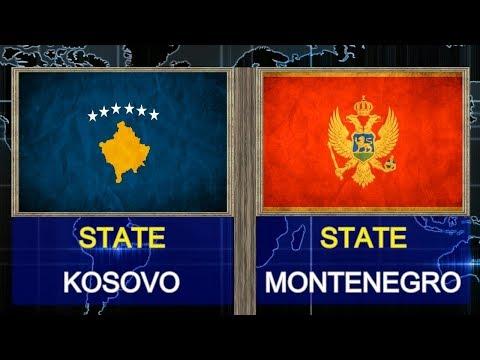 KOSOVO VS MONTENEGRO  -  Total Comparsion and Statistics  for  2018