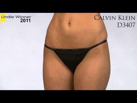 2011 Undie Award Winner: G-String - Calvin Klein D3407