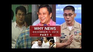 UNTV: Why News (December 07, 2018) PART 1