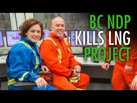 Docs reveal how BC NDP handled massive LNG cancellation
