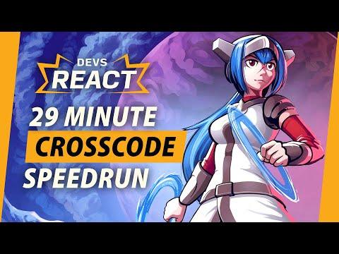 CrossCode Developers React to 29 Minute Speedrun