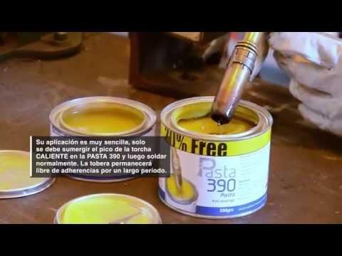 Pasta 390 Antiadherente para torchas