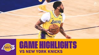 HIGHLIGHTS | Anthony Davis (28 pts, 5 reb, 5 ast, 2 blk) vs. New York Knicks