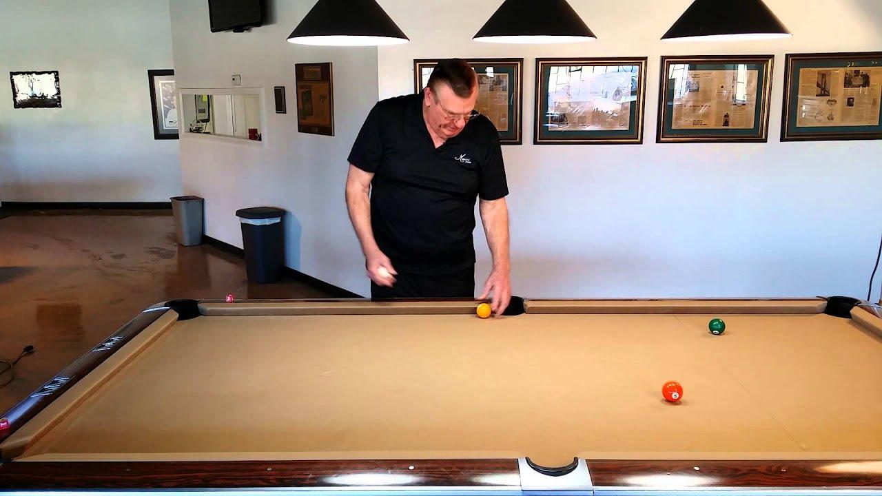 Bob Meucci Billiards Lesson - Banking with Alejandro Carvajal Ossandon