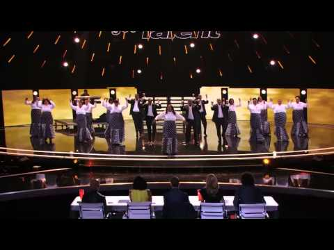 America's Got Talent 2015 - Selected of God Choir Give Standing Ovation for Destiny s Child Cover