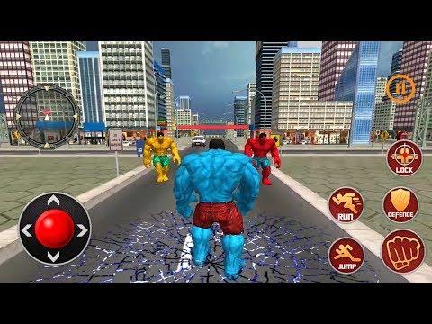 ► Incredible Hulk vs Hulk Robot - Monster Superhero City Optimus Prime Robot \u0026 More Robots Rescue