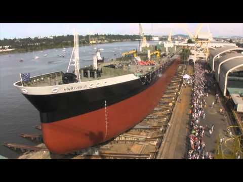 Kirby 185 01 Barge Launch