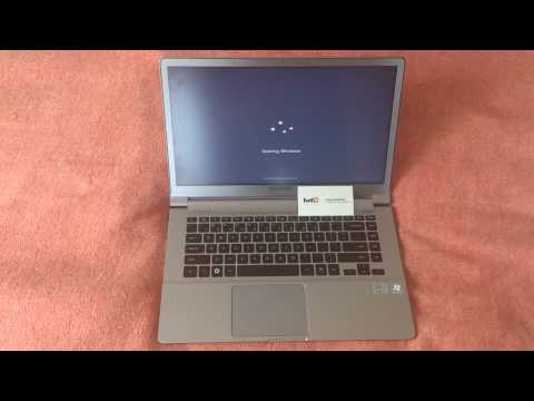 Samsung Ultrabook 900x4D Fast Booting Test