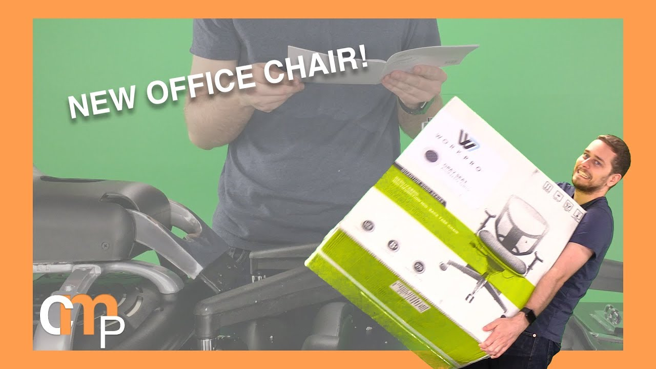 New Office Chair Work Pro Quantum 9000 Mesh Chair Youtube