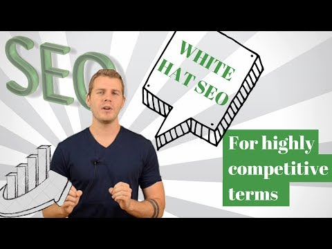 Alex Becker SEO - White Hat SEO for Highly Competitive Terms Live Tutorial