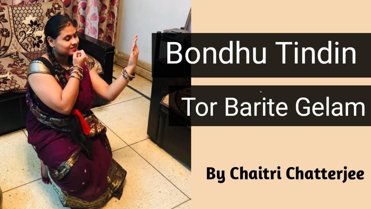 Bondhu Tin Din Tor Barite Gelam   Runa Layla   Choreography and Performance   Chaitri Chatterjee