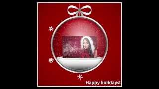 "PanosFX ""Falling snow"" - the ""CHRISTMAS CARD - SNOWGLOBE"" action"