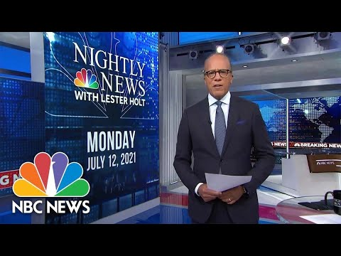 Download NBC Nightly News Broadcast (Full) - July 12th, 2021
