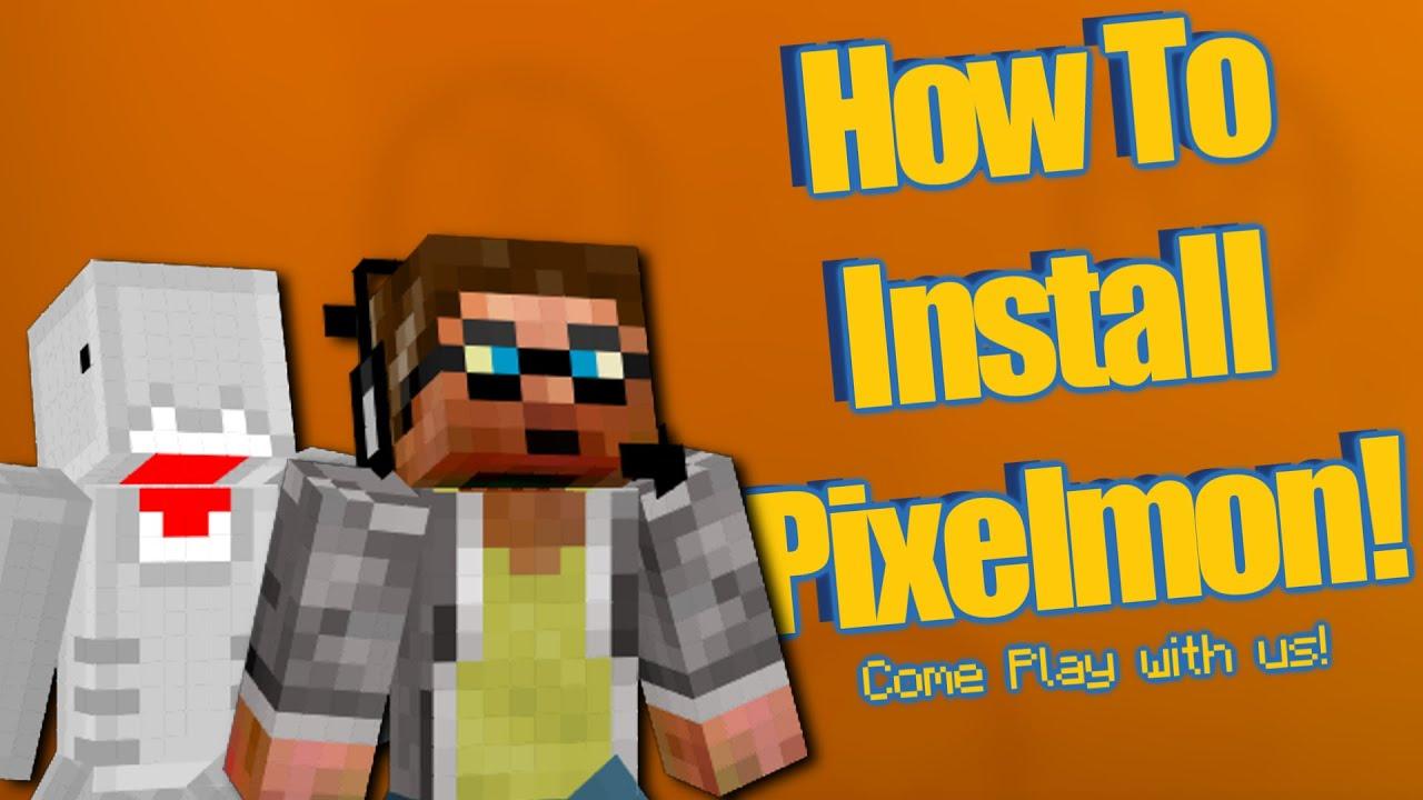 how to add pixelmon mod to minecraft