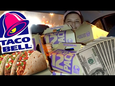 Thumbnail: SPENT $400 AT TACO BELL!!
