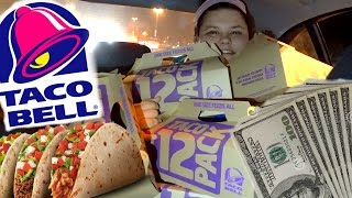 SPENT $400 AT TACO BELL!! thumbnail