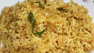 Cabbage Rice / Cabbage Pulao