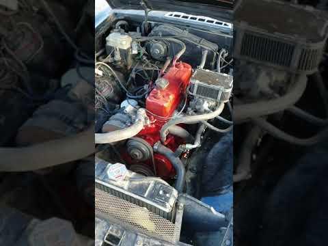 MGB motor running 1979