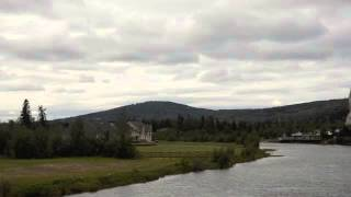Chena Athabaskan Village - Floatplane Take-off and Landing - August 2011