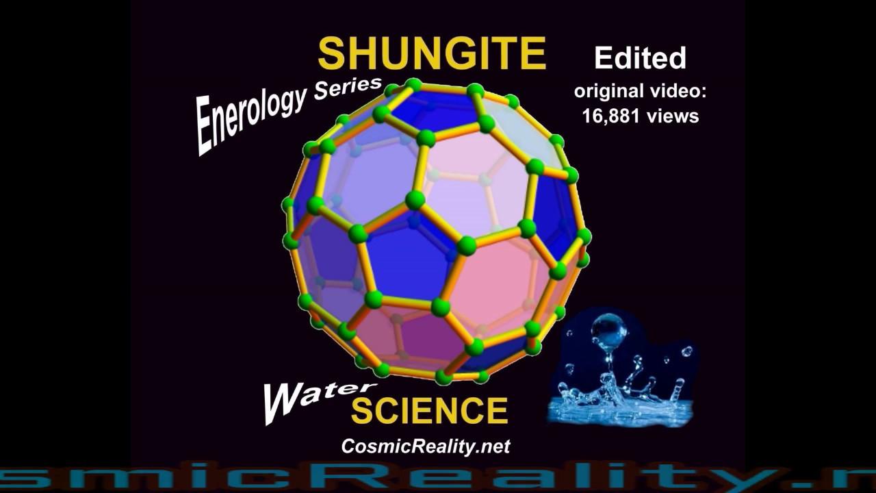 SHUNGITE WATER vs SHUNGITE ENERGIZED WATER