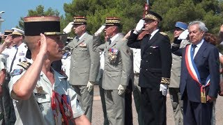 Calvi : Le colonel Christophe Passerat de la Chapelle nouveau chef de corps du 2e REP