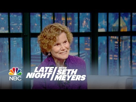 The Late Night Crew Asks Judy Blume About Their Changing Bodies - Late Night with Seth Meyers