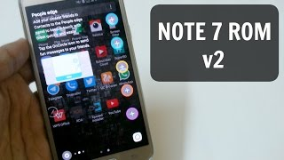 Note 7 Rom (v2) For Samsung Galaxy J7