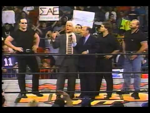 WCW Monday Nitro 9-28-98 Four Horsemen and nWo promo
