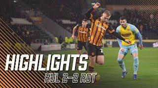 Hull City 2-2 Rotherham United   Highlights   Sky Bet Championship