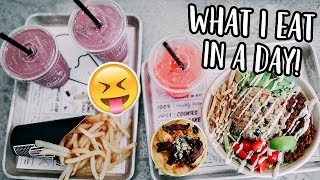 WHAT I EAT IN A DAY + GROCERY HAUL!