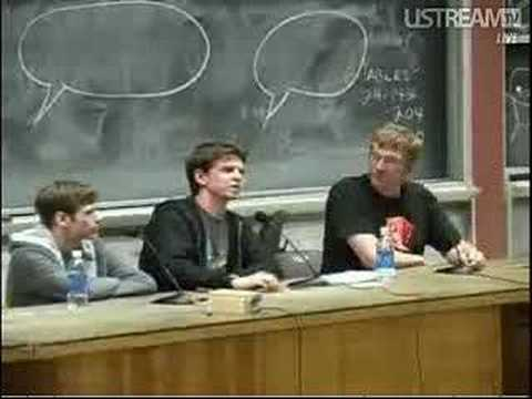 4chan's m00t/moot/m♡♡t at ROFLcon part 1