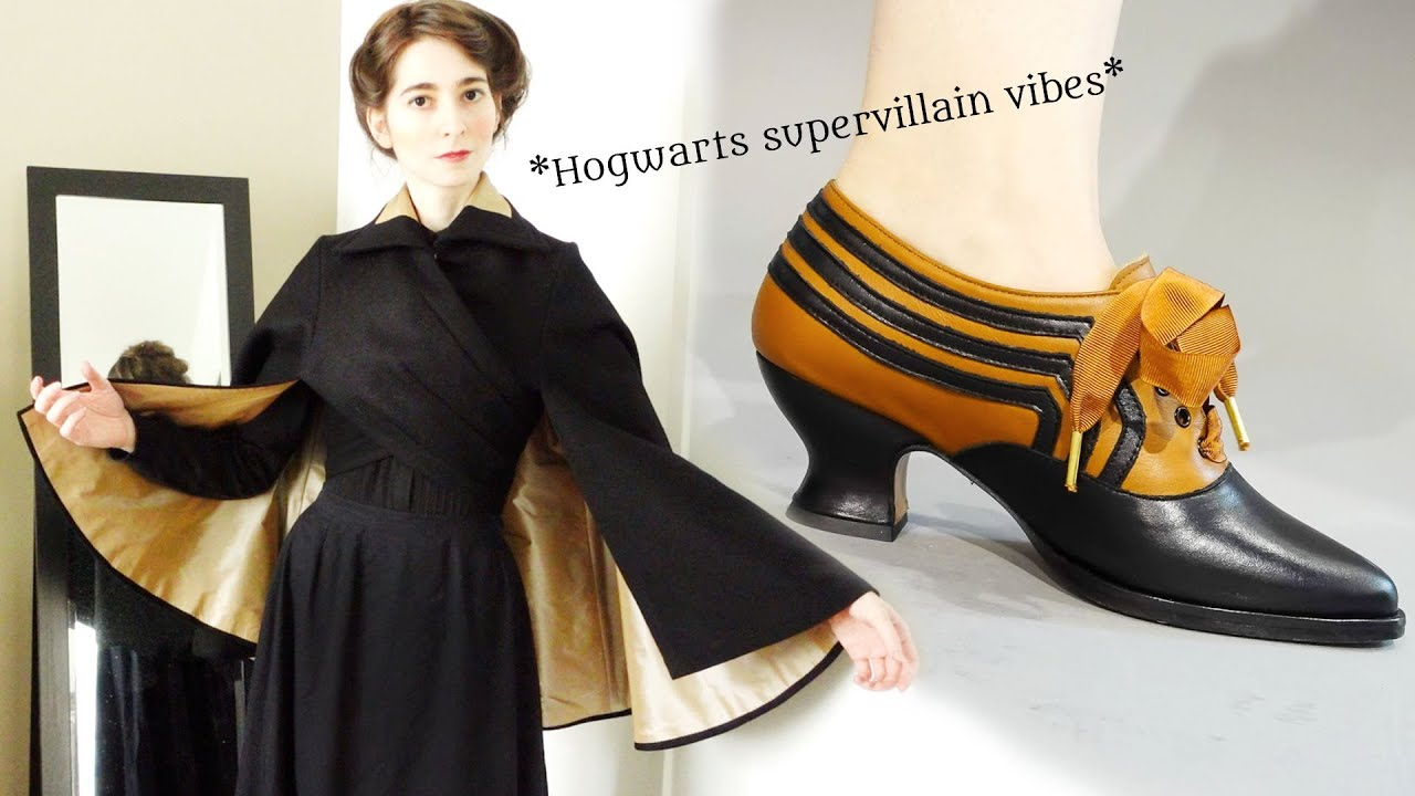 Download I Made an Edwardian Wrap Cape...and American Duchess Made Shoes to Match!