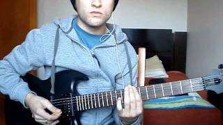 Demon Hunter - Annihilate the corrupt - Guitar cover