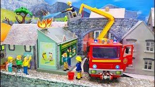 Feuerwehrmann Sam: Norman's Papierflieger 🔥 Feuer in Pontypandy | Kinderspielzeug Film 2019