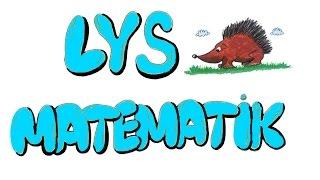 11dk'da LYS MATEMATIK