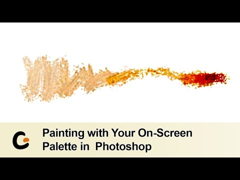 Digital Painting in Photoshop with Your On Screen Colour Palette