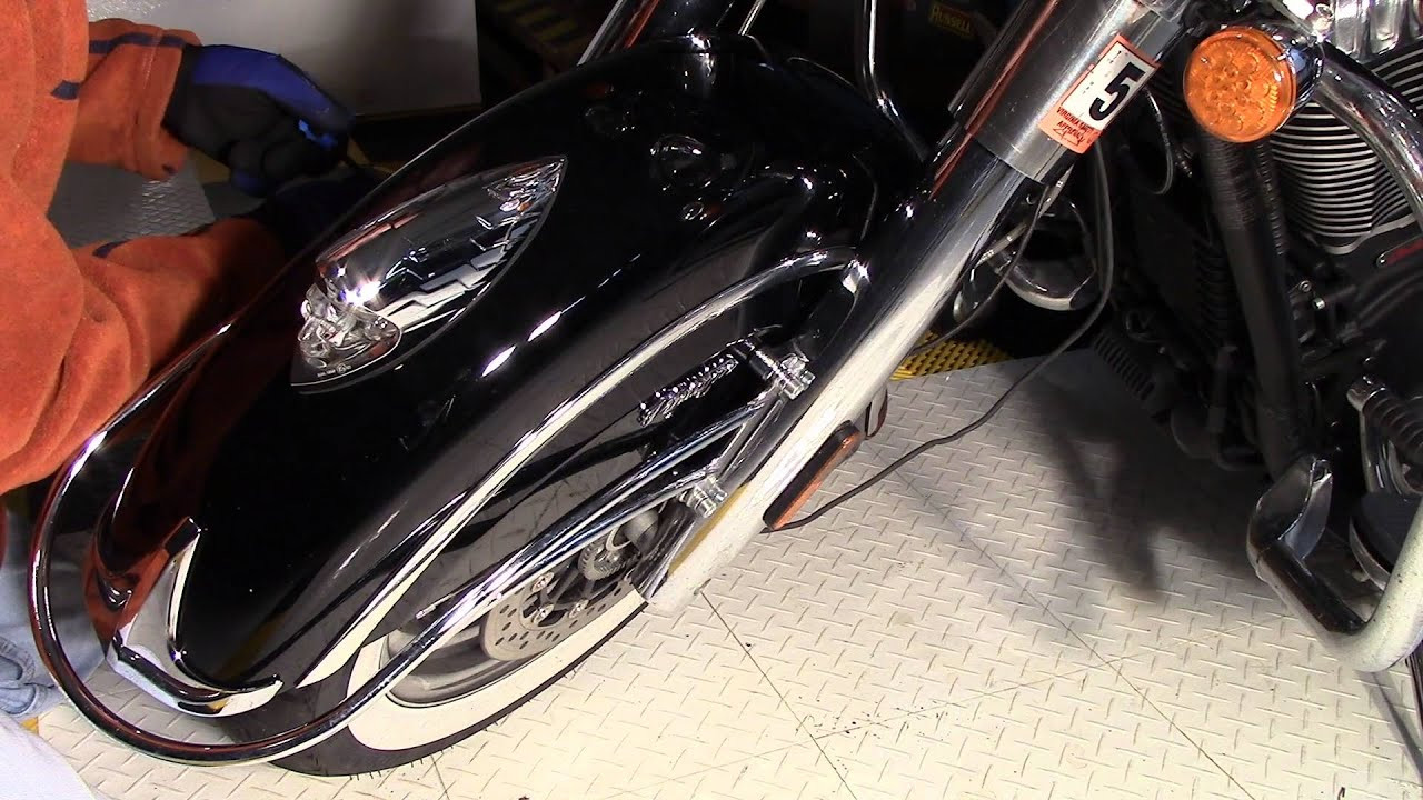 Indian Chief Vintage >> Indian Fender Removal - YouTube