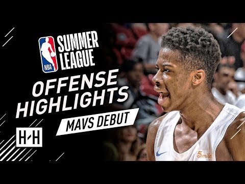 Kostas Antetokounmpo Full Offense Highlights at 2018 NBA Summer League - Mavericks Debut!