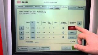 Как купить билет на поезд в Германии(, 2011-10-09T16:35:09.000Z)
