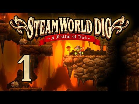 SteamWorld Dig - Прохождение игры на русском [#1] | PC