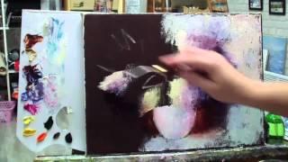 Алла Белопесоцкая урок живописи маслом