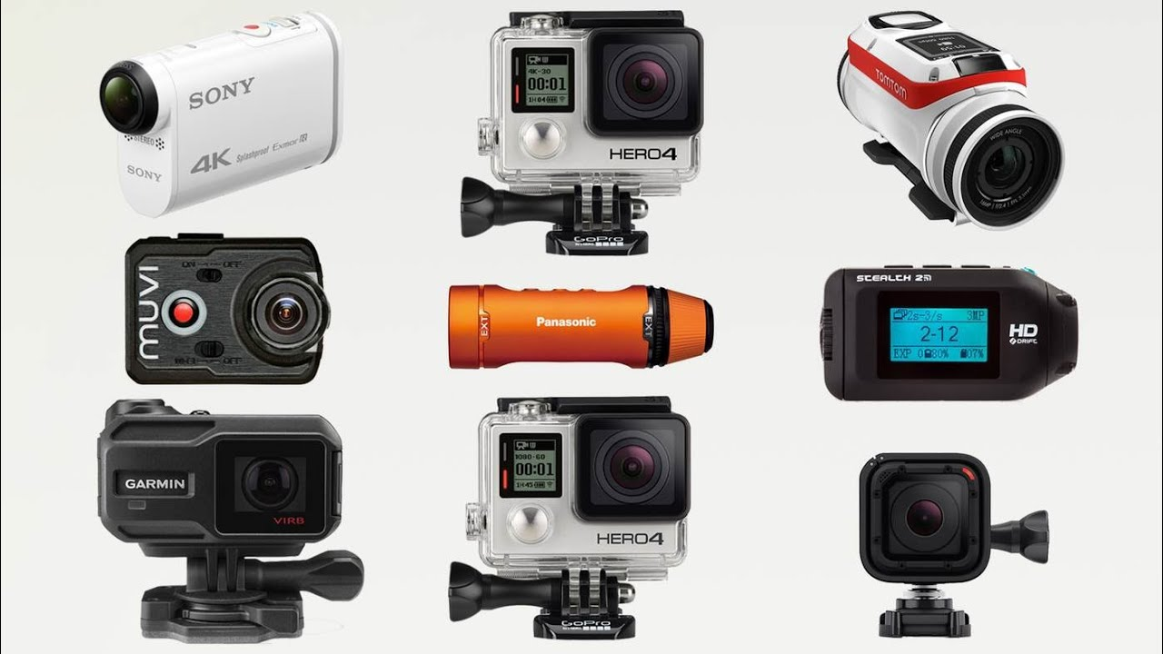 Only Top Action Camera 2015 - 2016 GoPro - Sony - TomTom ...