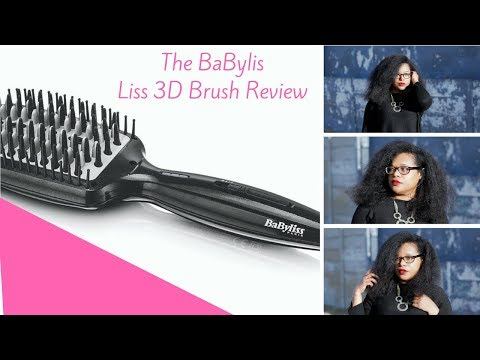 BaByliss Straightening Brush Review | Cape Town Curly
