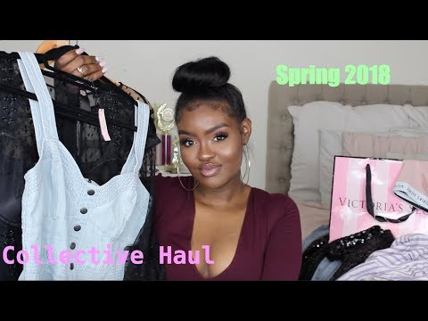 HUGE Shopping Haul 2018 🔥| MOSTLY Express, Victoria's Secret & Nike ( Tall Girl Friendly )