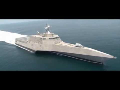 MOST FINEST SHIP US Navy Littoral Combat Ship with Stealth Technology